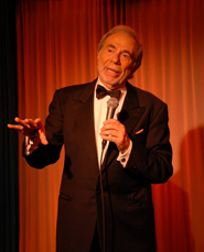 Cary Hoffman in Frank Sinatra musical show